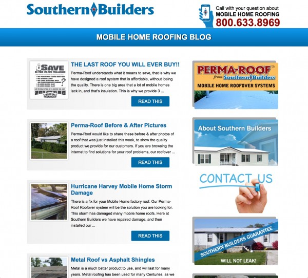 Southern Builders Blog Website title=