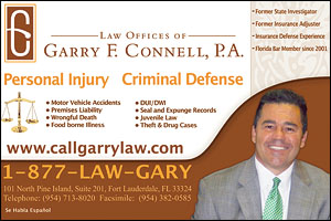 Garry F. Connell Promotional Postcard